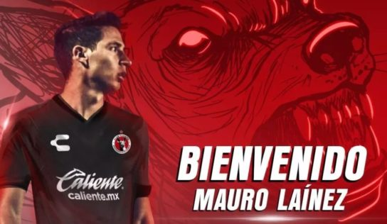Xolos ficha a delantero Mauro Lainez