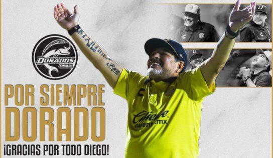 Maradona no seguirá con Dorados de Sinaloa