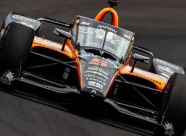 El mexicano Pato O'Ward es el más rápido en última sesión de entrenamientos de la Indy 500