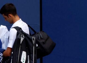 """""""Me siento triste y vacío"""", expresa Djokovic tras descalificación del Abierto de Estados Unidos"""
