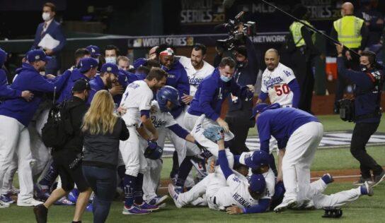 Victoria con sabor a México. Dodgers gana su primera Serie Mundial desde 1988