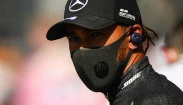 Lewis Hamilton, campeón de la F1 tiene covid