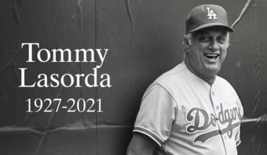 Muere Tommy Lasorda, histórico mánager de los Dodgers