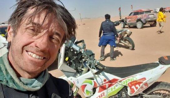 Muere el piloto Pierre Cherpin tras su caída en el Dakar
