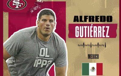 San Francisco 49ers toma a jugador mexicano en Draft