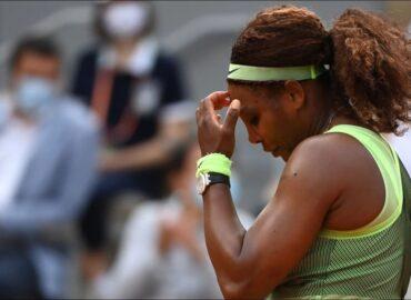 Queda Serena Williams fuera de Roland Garros