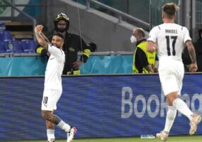 Italia abre la Euro con victoria 3-0 ante Turquía