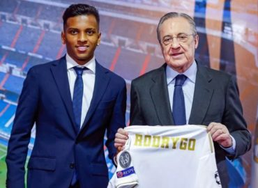 Real Madrid presenta a Rodrygo