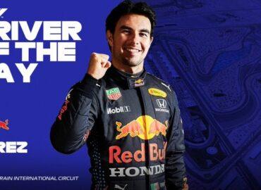 Eligen a 'Checo' Pérez 'Driver of the Day'