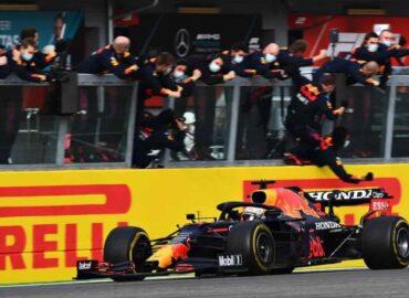 Verstappen gana GP de Imola y 'Checo' no suma