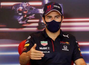 'Checo' Pérez marca el mejor tiempo en ensayo del GP de Mónaco