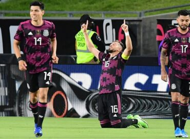 México golea 4-0 a Nigeria con gol de Funes Mori