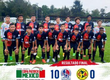 """Olimpia el caza """"gigantes"""" destroza 10-0 al América"""