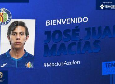 ¡Otro de Chivas a Europa! Getafe presentó a JJ Macías