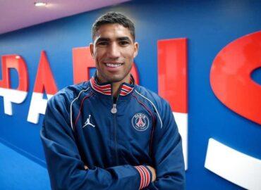 Achraf Hakimi, jugador del PSG da positivo a Covid-19