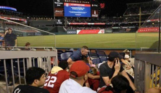 Balacera detiene y suspende el partido entre Nationals y Padres