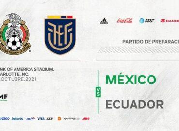 Selección Mexicana anuncia partido amistoso ante Ecuador