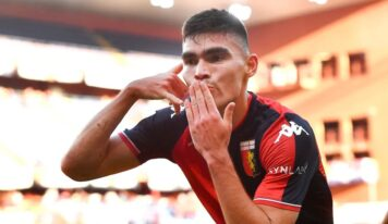 Johan Vásquez debuta en Serie A italiana con gol para el Genoa