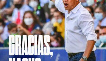 Ignacio Ambriz deja de ser el entrenador del SD Huesca